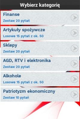 Polskie Marki Quiz menu