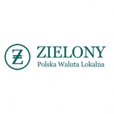 Zielony - Polska waluta lokalna