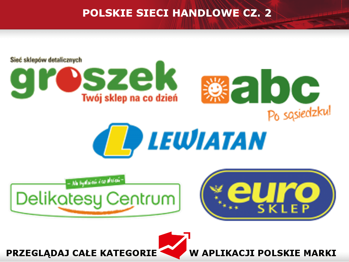 Polskie sieci handlowe cz.2